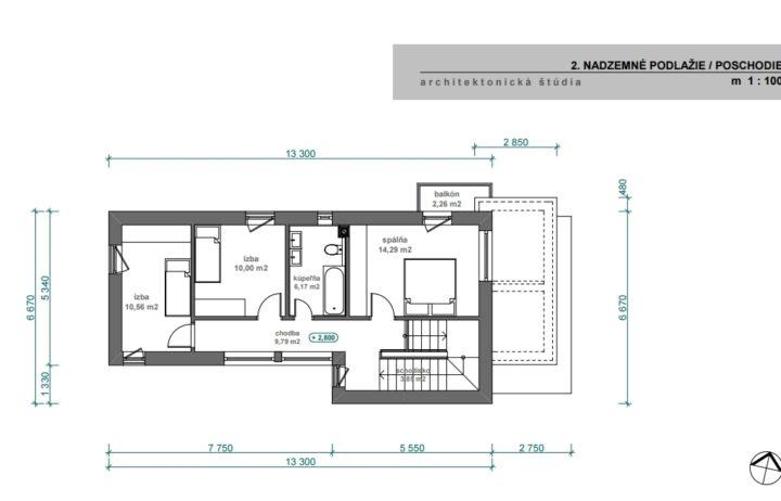 Predaj poschodového rodinného domu  – Novostavba- Konská