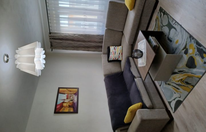Predaj komplet zariadeného 2 izbového bytu Martin časť Sever o výmere 61m2.
